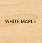 white maple wood type